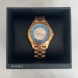 Marc by Marc Jacobs Rose Gold Women's Watch